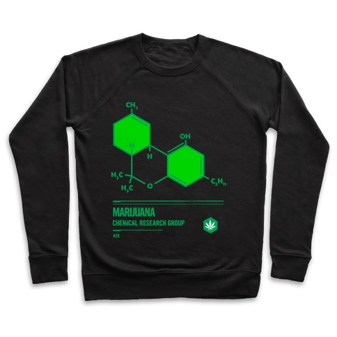 Marijuana Chemical Research Group Pullover