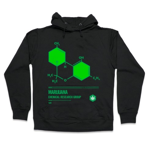 Marijuana Chemical Research Group Hooded Sweatshirt