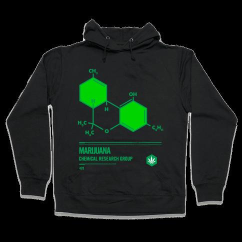 Marijuana Chemical Research Group Hooded Sweatshirt