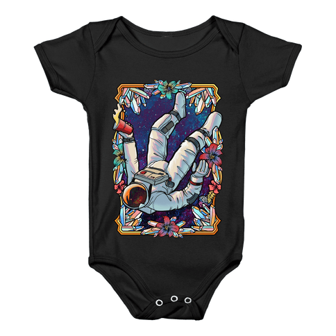 Space Trip Baby Onesy
