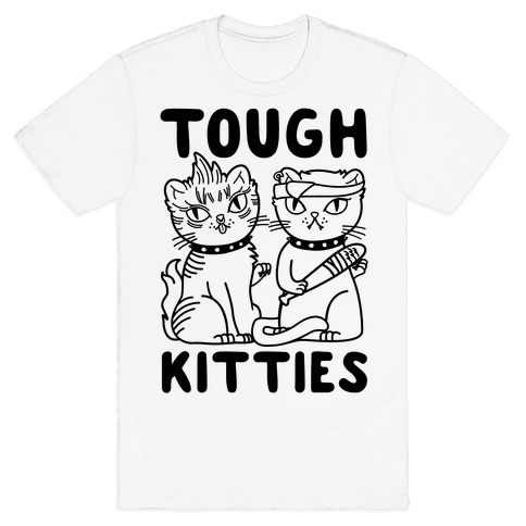 Tough Kitties Mens T-Shirt