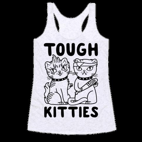 Tough Kitties Racerback Tank Top