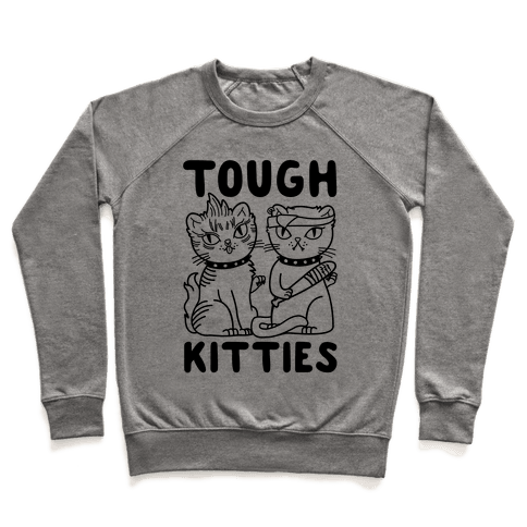 Tough Kitties Pullover