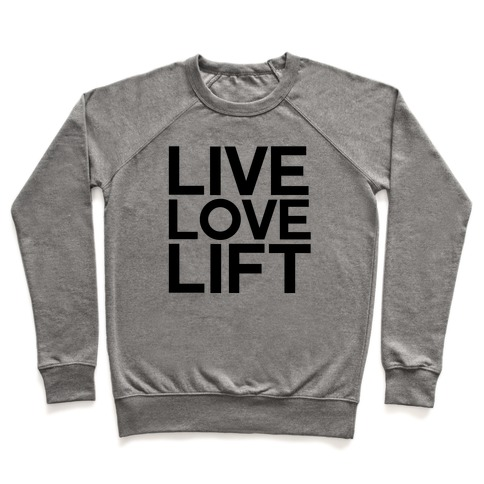 Live Love Lift Pullover