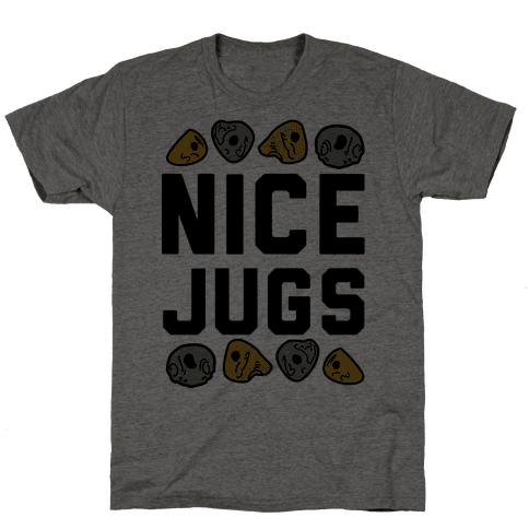 Nice Jugs Mens T-Shirt