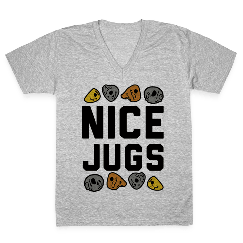 Nice Jugs V-Neck Tee Shirt