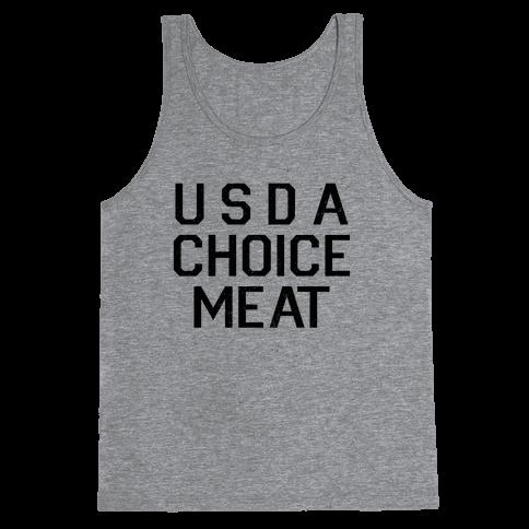 Grade-A Top Choice Meat Tank Top
