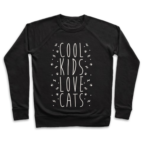 Cool Kids Love Cats Pullover