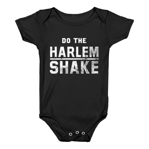 Do the Harlem Shake Baby Onesy