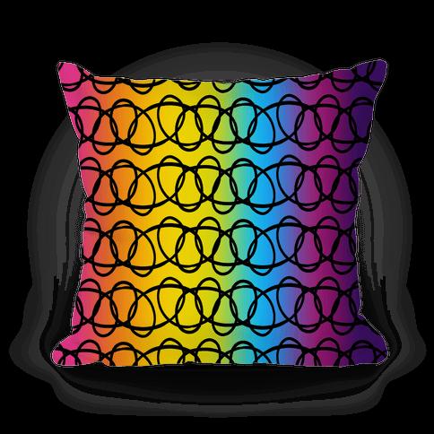 90s Cosmic Rainbow Choker Pattern
