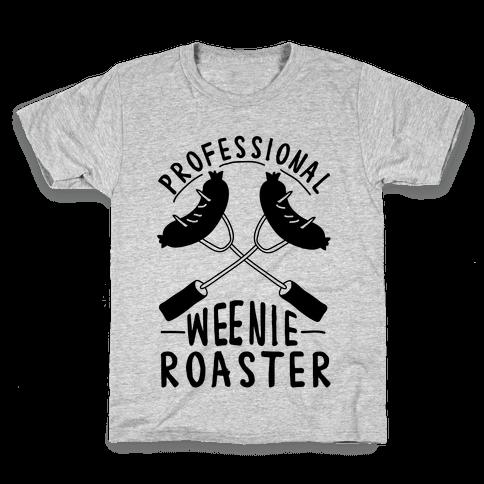 Professional Weenie Roaster Kids T-Shirt