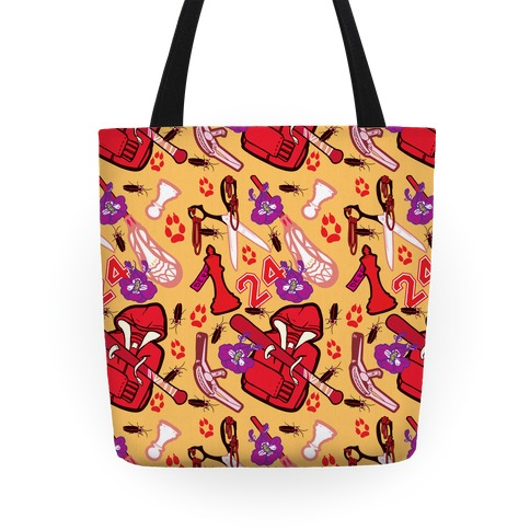 Team Stilinski Pattern Tote