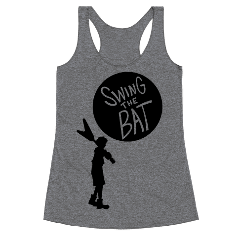 Swing The Bat Racerback Tank Top