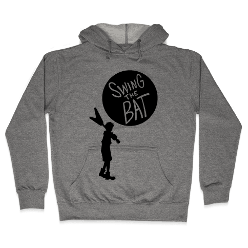 Swing The Bat Hooded Sweatshirt