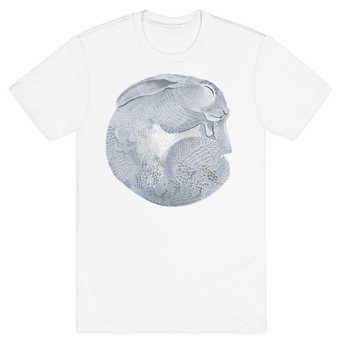 Moon Rabbit Mens T-Shirt