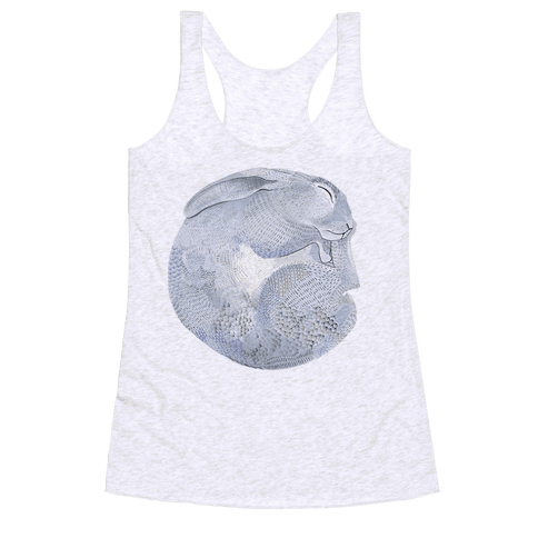 Moon Rabbit Racerback Tank Top