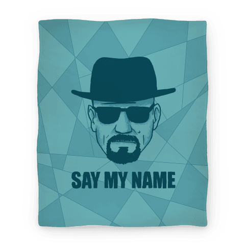 Say My Name Print Blanket