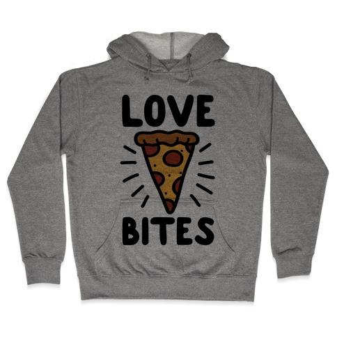 Love Bites Pizza Hooded Sweatshirt