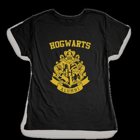 Hogwarts Alumni (Hufflepuff) Womens T-Shirt