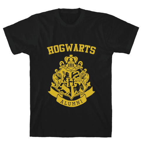 Hogwarts Alumni (Hufflepuff) Mens T-Shirt