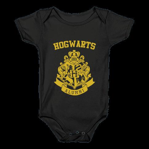Hogwarts Alumni (Hufflepuff) Baby Onesy