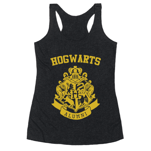 Hogwarts Alumni (Hufflepuff) Racerback Tank Top