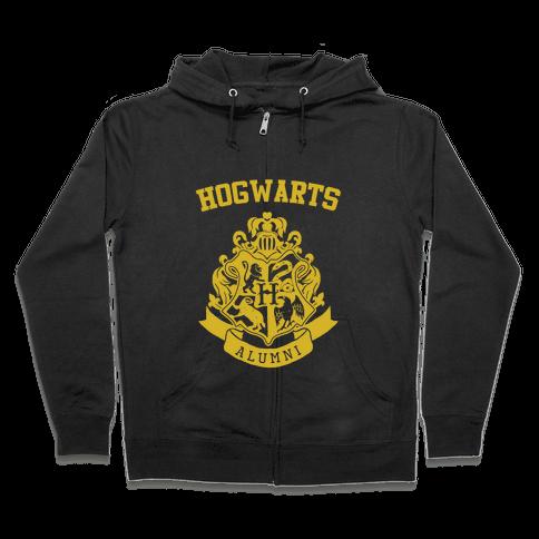 Hogwarts Alumni (Hufflepuff) Zip Hoodie