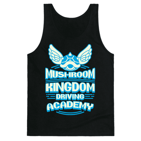 Mushroom Kingdom Driving Academy Tank Top