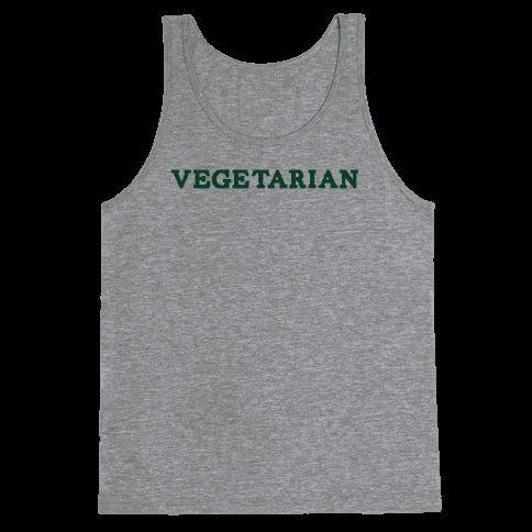 Vegetarian Tank Top