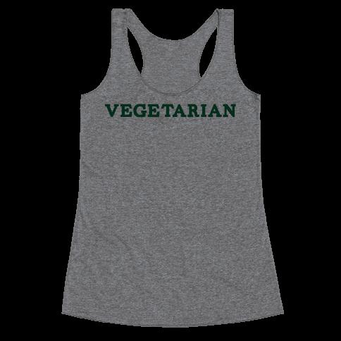 Vegetarian Racerback Tank Top