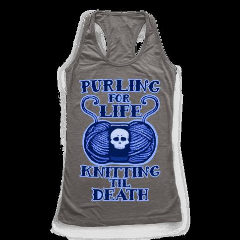 Knitting til Death