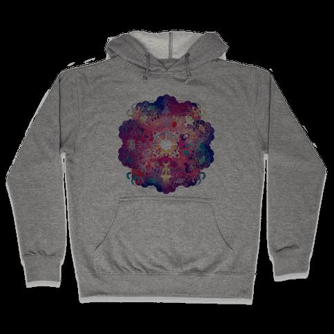 Colorful Yoga Tee Hooded Sweatshirt