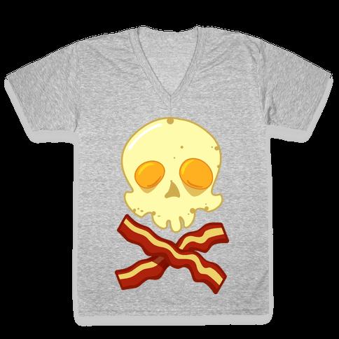 Bacon Roger V-Neck Tee Shirt