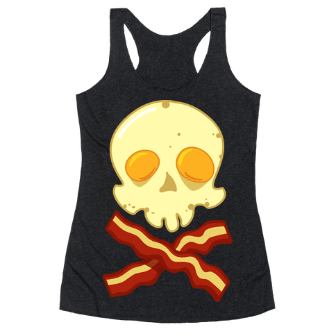 Bacon Roger Racerback Tank Top