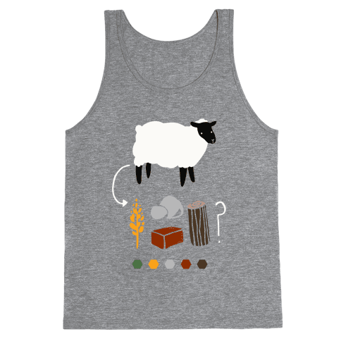 Want to Trade for My Sheep? Tank Top