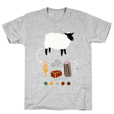 Want to Trade for My Sheep? Mens T-Shirt