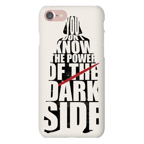 Power of the Dark Side Phone Case