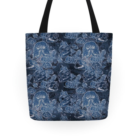 Skulls and Flowers Tote Tote