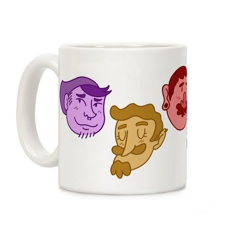 Cute Scruffy Dudes Coffee Mug