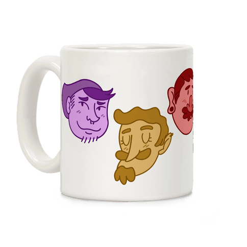 Cute Scruffy Dudes Coffee Mug
