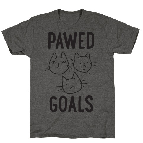 Pawed Goals T-Shirt