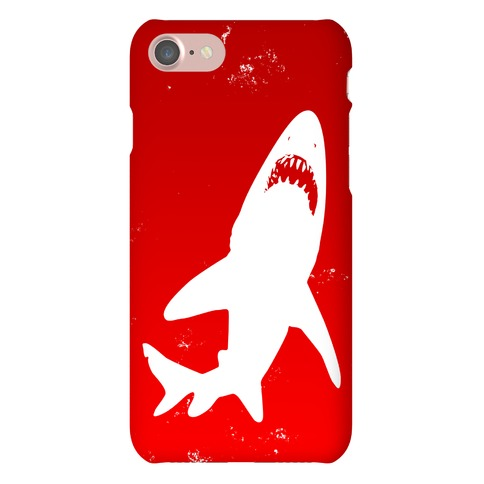 Stalking Shark Phone Case