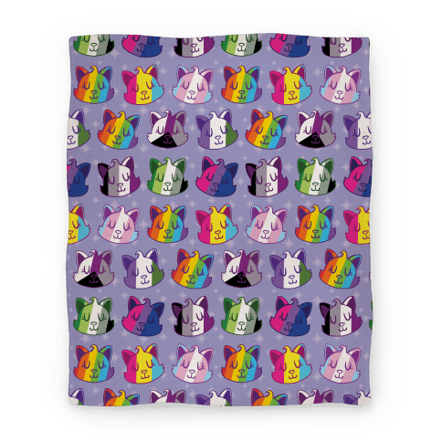 LGBTQ Cats Blanket