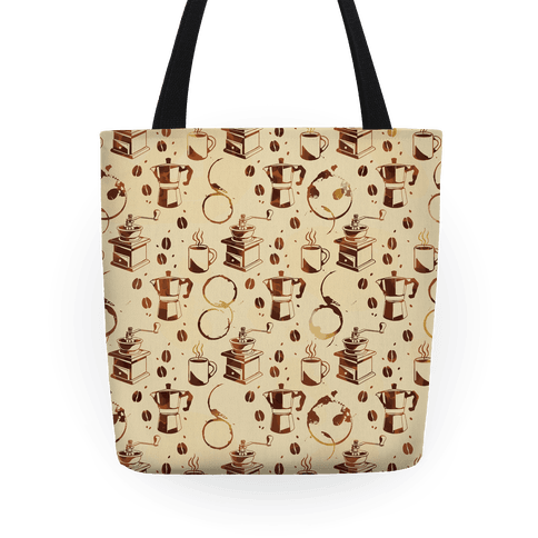 Coffee Pattern Tote