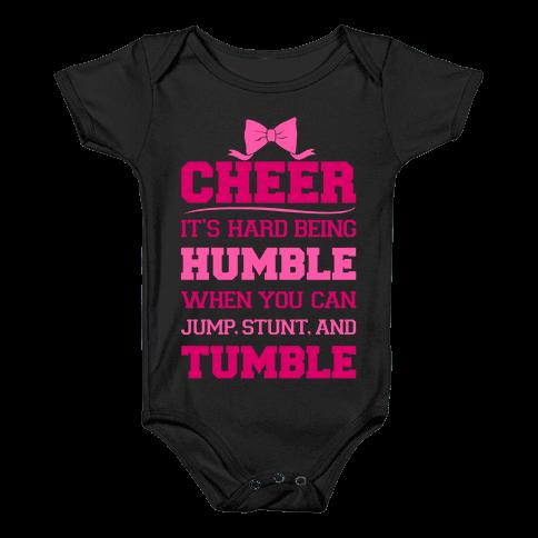 Cheer Baby Onesy