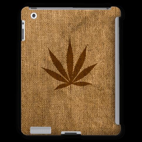 Faux Burlap Weed Case