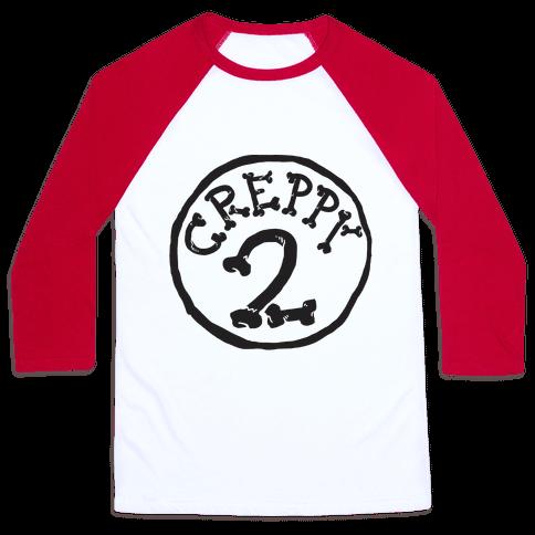 Creppy 2 Baseball Tee