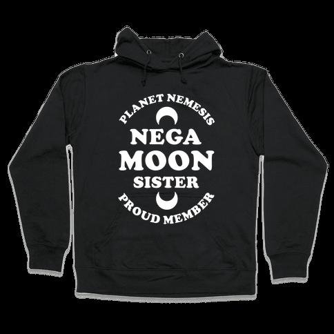 Planet Nemesis Negamoon Sister Hooded Sweatshirt