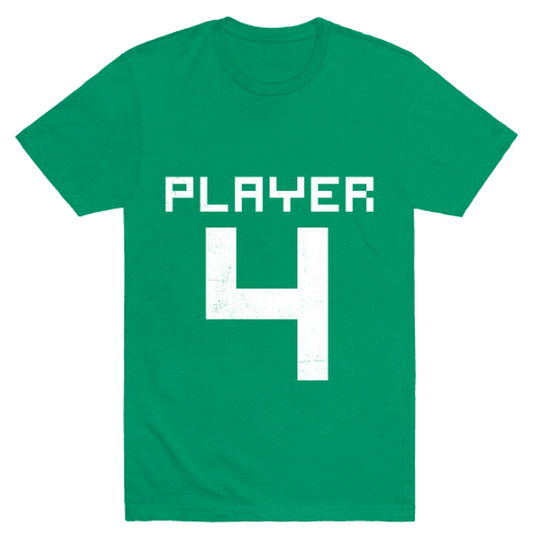Player 4 Mens T-Shirt