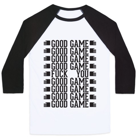 Good Game Baseball Tee